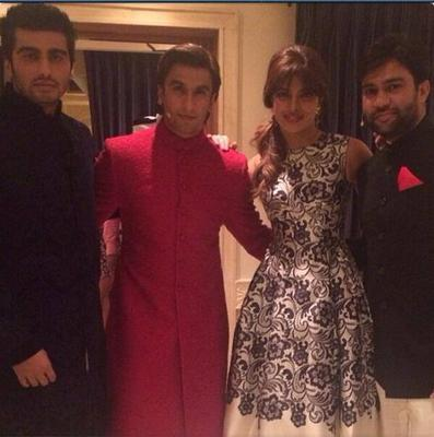 Priyanka,Ranveer,Arjun Clicked At DIFF