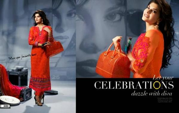 Pretty Jacqueline Fernandez New Collection Salwar Kameez Photo Shoot