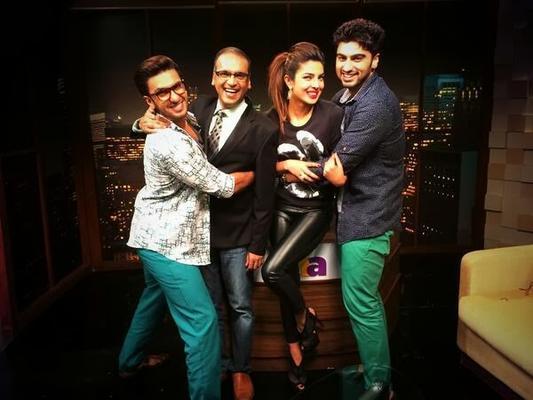 Ranveer,Arjun And Priyanka To Discuss Gunday With Komal Nahta