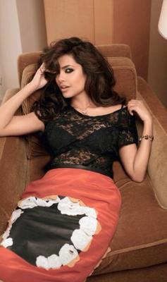 Esha Gupta Sizzles The  Femina Magazine February 2014 Cover