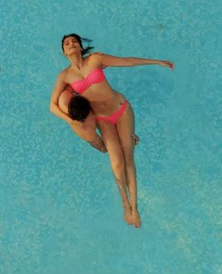 First Time Sonam Kapoor In Pink Bikini