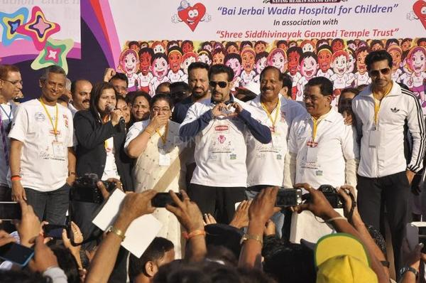 Salman Khan At Little Hearts Marathon For Running To Save Little Hearts