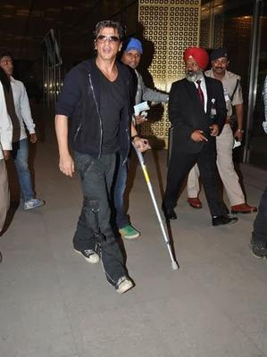 Superstar Shahrukh Khan Departs For Malaysia Concert