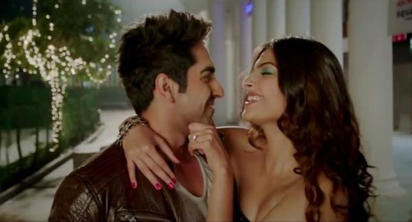 Ayushmann And Sonam In Bewakoofiyaan Movie Stills