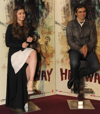 Alia Bhatt And Imtiaz Ali interact With UK Media For Highway Promotion