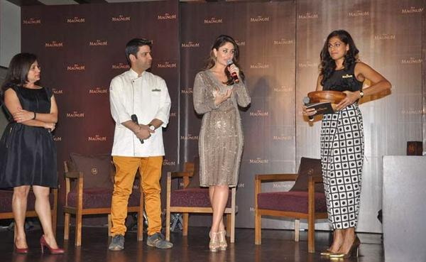 Stunning Kareena At Magnum Chocolate Ice Cream Launch Event