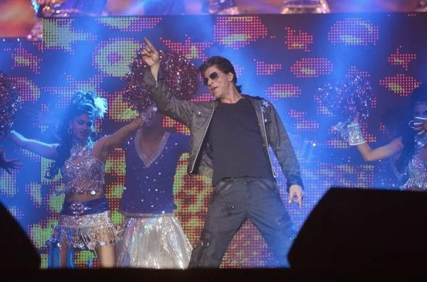 SRK,Madhuri And Rani At Temptation Reloaded 2014