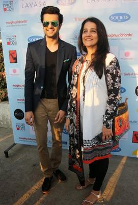 Elli Avram And Kunal At Lavasa Women's Drive Event