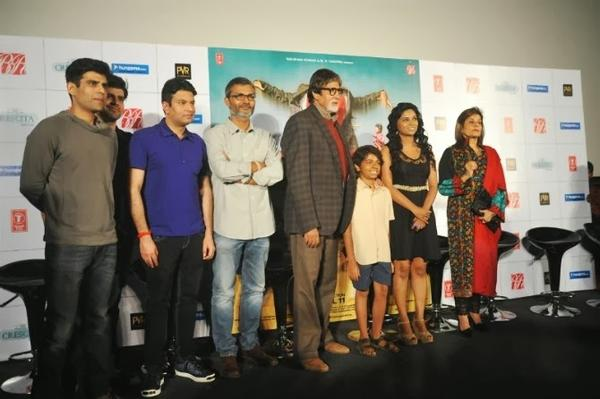 Cast And Crew Attend Theatrical Trailer Launch Of Bhootnath Returns