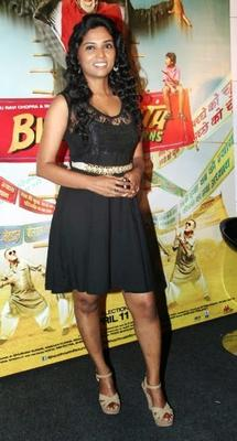 Usha Jadhav Spotted At The Theatrical Trailer Launch Of Bhootnath Returns