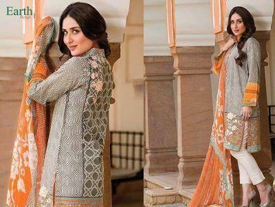 Kareena Kapoor Shoot For Faraz Manan's Crescent Lawn Collection 2014