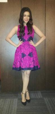 Pretty Asin Thottumkal Strikes A Pose For Photo Shoot At A Press Conference In Delhi