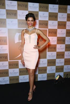Deepika Padukone Unveils The 50th Issue Of Harper's Bazaar