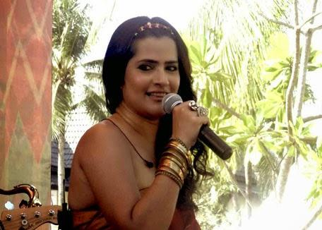 Sona Mohapatra Stunning Look During The Performance In Phuket
