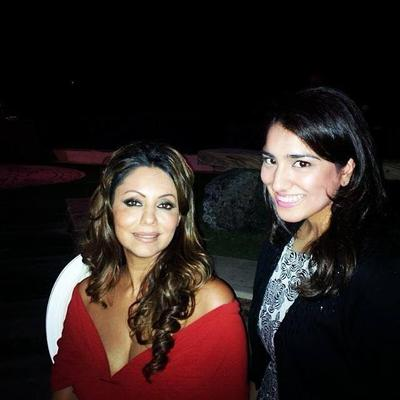 Gauri Khan And Suzanne Khan At Their Project's Launch Party In Dubai