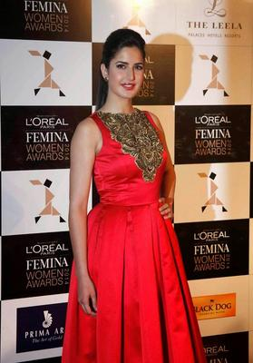 Hot Bolly Beauty Katrina Kaif At The L'Oreal Paris Femina Women Awards 2014