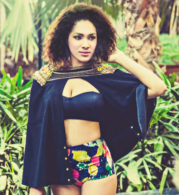 Masaba Gupta Photo Shoot For The Man Magazine April 2014 Issue