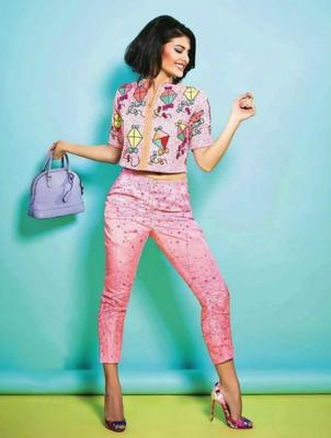 Jacqueline Fernandez Cutie Pinky Look For Verve India April 2014 Issue
