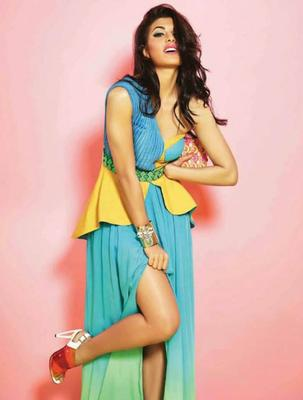 Jacqueline Fernandez's Photo Shoot For Verve April 2014