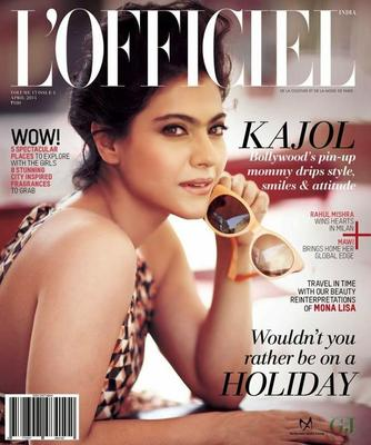 Kajol Devgan Photo Shoot For L'Officiel Magazine April 2014 Issue