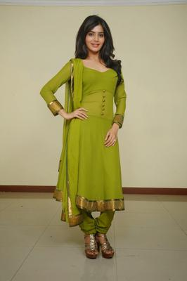 Actress Samantha In Green Churidar Photo Shoot Stills