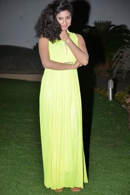 Actress Vishnu Priya At Nenu Naa Friends Audio Launch Event