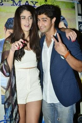 Izabelle And Tanuj Fun Still During The Purani Jeans Special Screening