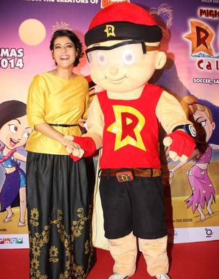 Kajol At 'Mighty Raju – Rio Calling' Mother's Day Event