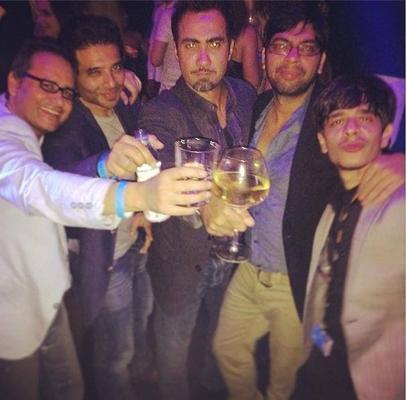 Ranvir Shorey And Uday Chopra Party Hard At Cannes 2014
