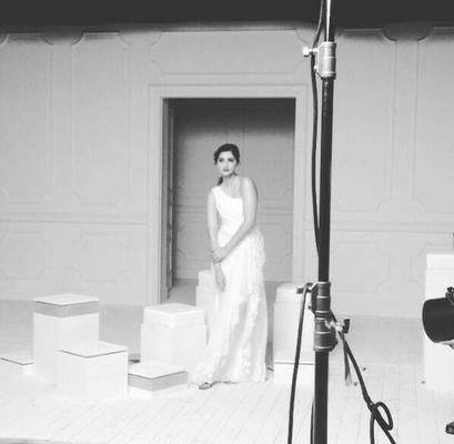 Sonam Kapoor Shoots For L'Oreal Paris At Cannes 2014