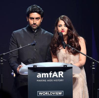 The Couple Host The 'Cinema Against AIDS' AMFAR Dinner Soiree At The Cannes Film Festival 2014