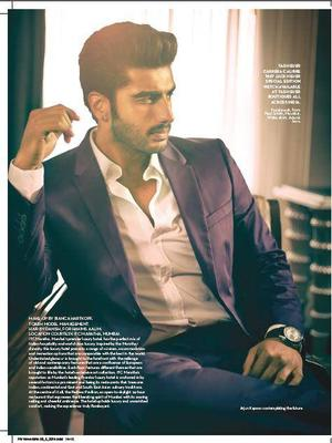 Arjun Kapoor Covers Verve June Issue With Sexiness