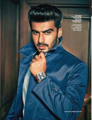 Arjun Kapoor Raises Heat On The Cover Of Verve Magazine June 2014 Issue