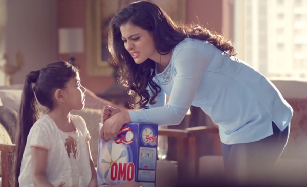 Kajol's Shoots For A Detergent Ad