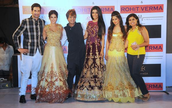 Daniel With Wife Sunny,Rohit,Koena And Priyanka Unveils Rohit Verma New Club Wear Collection