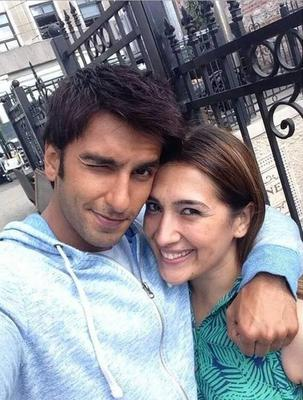 Ranveer Singh Spotted On The Sets Of Dil Dhadakne Do Movie