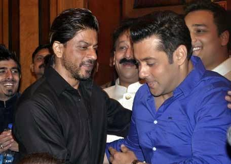 Salman Khan And Shahrukh Khan Meet Again At Iftaar Party