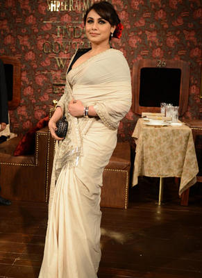 Rani Mukerji Attend Sabyasachi Show At ICW 2014