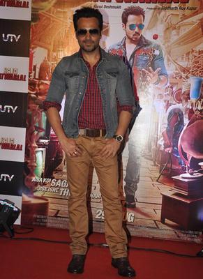 Emraan Hashmi Dashing Look During Raja Natwarlal Movie Trailor Launch Event
