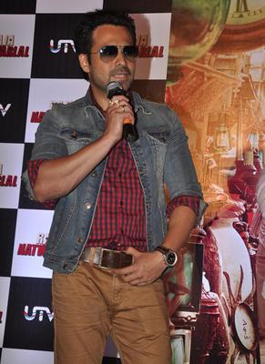 Raja Natwarlal Star Casts Attend Raja Natwarlal Trailor Launch