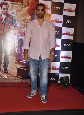 Kunal Deshmukh Posed For Lenses During The Trailor Launch Of Raja Natwarlal