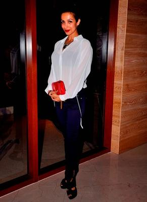 Malaika Arora And Arbaaz Khan At The Launch Of Aqaba Restaurant