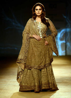 Huma Added The Glamour Element Required To End The ICW 2014 On A High Note
