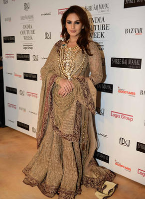 Huma Qureshi Spotted At ICW For Rimple And Harpreet Narula Show