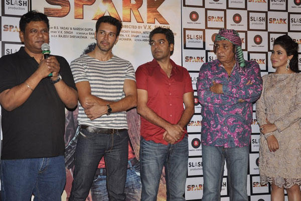 Celebs Attend Spark Trailer Launch