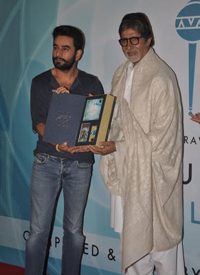 Amitabh Bachchan At The Launch Of Shekhar Ravjiani New Single