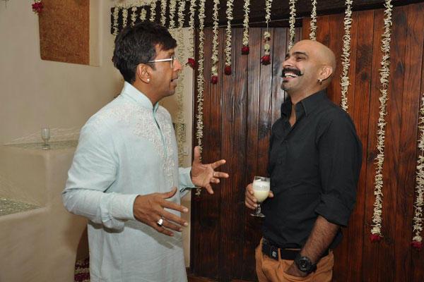 MTV Roadies Raghu Ram Conversation With Jaaved Jaffrey At Jaaved Jaffrey Annual Eid Bash
