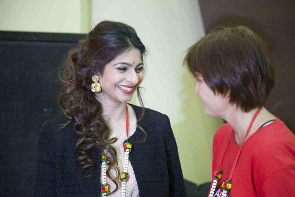 Tanisha Mukherjee At A Rotary Club Event In Wadala