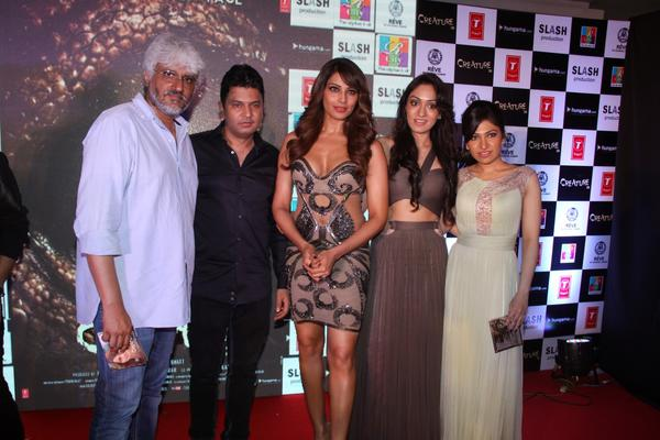 Stars During The Audio Release Of Creature 3D Movie At R City Mall