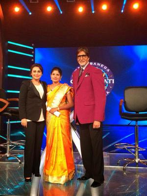 Rani Mukherjee At KBC To Promote Her Movie Mardaani